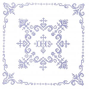 Weihkorbdecke IHS 70