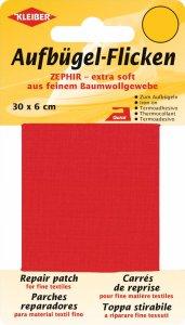 Kleiber Aufbügel-Flicken rot